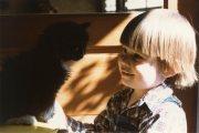 Ben with Kitten